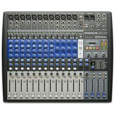 Presonus StudioLive AR16 USB Analog Mixer & Digital Recording  Mixing Desk