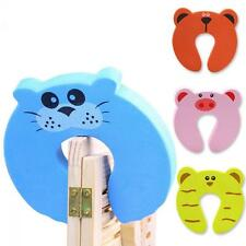 5pcs Bendy Child Baby Door Drawers Safety Lock Cartoon Protector Hot