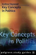 Key Concepts in Politics (How to Study), , Heywood, Andrew, Very Good, 2000-11-0