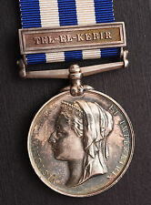 Egypt Medal ~ TEL-EL-KEBIR ~ 2nd  Royal Irish Regiment ~ Pte  T Moore