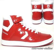 Men CONVERSE All Star STARION 84 HI Red White SKATE Trainers Boot Shoe SIZE UK 8