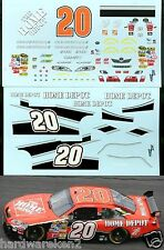 NASCAR DECAL #20 HOME DEPOT 2008 COT TOYOTA CAMRY TONY STEWART