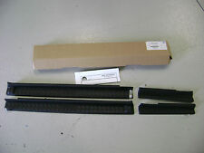 MOPAR JK 4 DOOR OEM JEEP WRANGLER BLACK PLASTIC DOOR ENTRY SILL GUARDS
