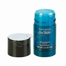 Cool Water Deodorant Stick For Men 2.4oz 70g by Davidoff * New * Low Ship *