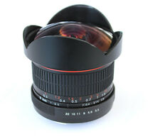 Super-Wide Fisheye lens 8mm f/3.5 for Canon 1100D 650D 7D 6D 5D II III 70D 60D