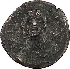 Michael Vii Ducas with labarum 1071Ad Ancient Byzantine Coin Christ i39350