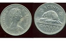 CANADA 5 cents  1984 ANM
