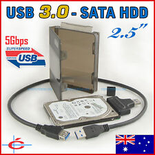 """2.5"""" Notebook SATA Hard Disk to USB 3.0 Interface Converter / Adapter + PP Case"""
