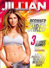 Jillian Michaels Beginner Shred DVD 3 20-Minute Workouts Fitness Exercise Video