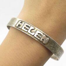 """Leonore Doskow 925 Sterling Silver Handmade Helen  Cuff Bracelet 7 1/4"""""""