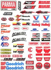 Parma 10601 Self Stick Off Road Logo Decal Sheet 1/10 slot car from MidAmerica