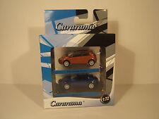 AUTO SET FIAT GRANDE PUNTO, ALFA BRERA 1:72 CARARAMA. NEW IN BOX.