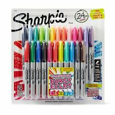 Sharpie Color Burst Permanent Markers, Fine Point, Assorted, 24-Pack 1949557