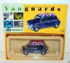 VANGUARDS 1/43 VA02510 MINI COOPER S DARK BLUE
