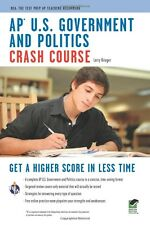 AP U.S. Government & Politics Crash Course Book + Online- Paperback BRAND NEW