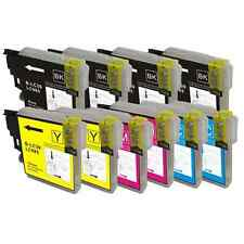 10 tintas compatibles Brother NON-OEM LC985 LC-985 DCP-J315W DCPJ315W DCP J315W