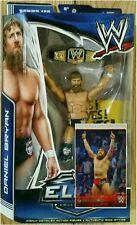 WWE Elite Series #28 Daniel Bryan Mattel Action Figure *NEW* with 2 Topps Cards