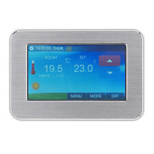 ELECTRIC Underfloor Heating COLORI TOUCH SCREEN TERMOSTATO DIGITALE 24/7