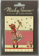 "NICKY SNOW OF BATH. COLLECTABLE FRIDGE MAGNET ""TULULAH"" GREAT RETRO GIFT !!"