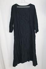 cocon.commerz PRIVATSACHEN ANFANG Kleid aus Sommerleinen in schwarz Gr. 2