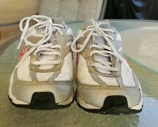 WOMEN'S NIKE INITIATOR WHITE/GRAY/PINK SNEAKERS US Size 10 EUC JUST REDUCED!!