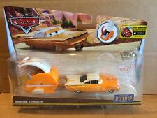 DISNEY CARS DIECAST - New 2016 Release - Road Trip Ramone & Trailer