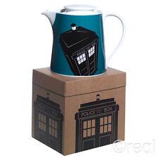 Doctor Who Blau TARDIS Teekanne Heim Waren Porzellan Offiziell