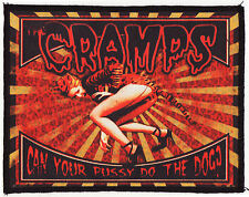 THE CRAMPS PATCH POISON IVY CAN YOUR PUSSY DO THE DOG? GARAGE LEOPARD TIGER A6+