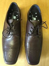 NEW Men's UK Size 7 Silver Street Brown Formal Work Shoes