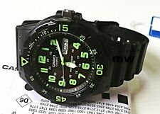 New Casio Men Water Resistant Analog Sport Resin Watch MRW-200H-3B MRW-200H-3B