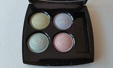 CHANEL Quatuor Boutons de Chanel PASTELS- 4 Powder Eye Shadow Collection