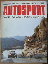 Autosport November 12th 1970 *RAC Rally Preview*