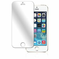 3x TOP QUALITY MIRROR SCREEN PROTECTOR SAVER FOR GENUINE APPLE IPHONE 5S 5C 5 5G