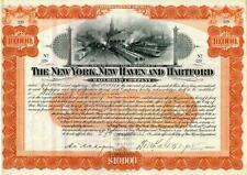 1905 New York  New Haven & Hartford RR Bond Certificate