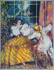 Masquerade Ball The Masquerader Illustration By H Forster 1926 Page Print 7007