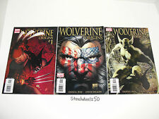 Wolverine Origins #1 2 3 Comic Lot Marvel Quesada Flag Hidden Message Variants