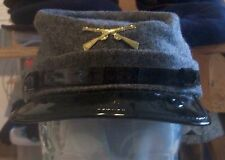 x NWT New York Hat Co. Mens Civil War Cap Grey / Black