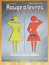 AFFICHE - ROUGE A LEVRES ET ARME A FEU - High heels and low lifes - pictogramme