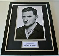 Richard Armitage SIGNED FRAMED Photo Autograph 16x12 display Spooks Hobbit COA