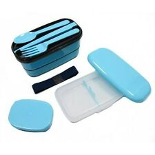 Microwavable Japanese Bento Box Lunch Box Set with Spoon Fork