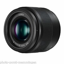 Panasonic H-H025E-K LUMIX G 25mm / F1.7 ASPH. Objektiv 25 mm schwarz PHOTO-PORST