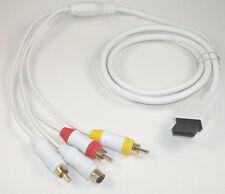 USA SELLER: New Nintendo Wii U SVideo RCA AV Cable TV Cord Compatible
