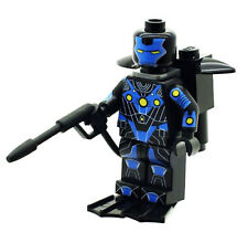 Custom Minifigure Ironman Atmospheric Diving Superhero Printed on LEGO Parts
