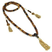 GENUINE CAMEL BONE MALA Prayer Bead Necklace 8mm NEW Brown Natural Rosary String
