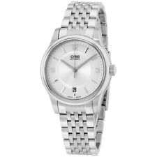 Oris Classic Silver Dial Stainless Steel Men's Watch 73375784031MB