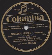 Percy Pitt conducted BBC  Orchestra : Cavalerie legere - Leichte Kavallerie