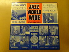"LP 12"" / JAZZ WORLD WIDE: STAR PLAYERS (SANDMEN) (JAZZ CLUB, BELGIUM)"