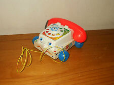 Original Vintage Fisher Price CHATTER TELEPHONE Phone