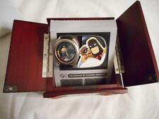 HANNA BARBERA SPACE GHOST BLIP MONKEY FOSSIL WATCH TV WOODEN BOX #/2500