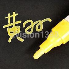 Universal Waterproof Permanent Paint Car Tire Tyre Marker Pen Tread Rubber Metal